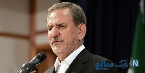 سخنرانی جهانگیری و شوخی جالب او با شهردار مشهد