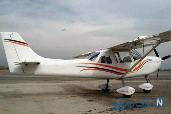 سقوط هواپیمای فوق سبک در حوالی فرودگاه ایوانکی