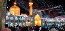 شب عید غدیر خم و حال و هوای حرم امام رضا در این روز