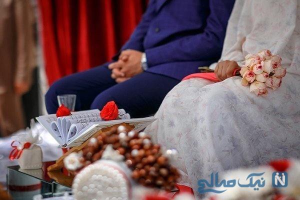 مراسم عروسی در خانه سیل زده در سوسنگرد+ عکس