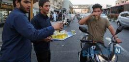 فقط به عشق علی جشنی در خیابان های پایتخت