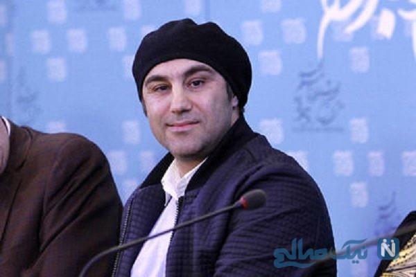 قیافه محسن تنابنده و پریناز ایزدیار در فیلم سه کام حبس