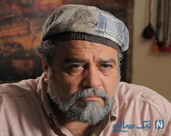 محمدرضا شریفی نیا در جوانی وقتی که لاغر بود!