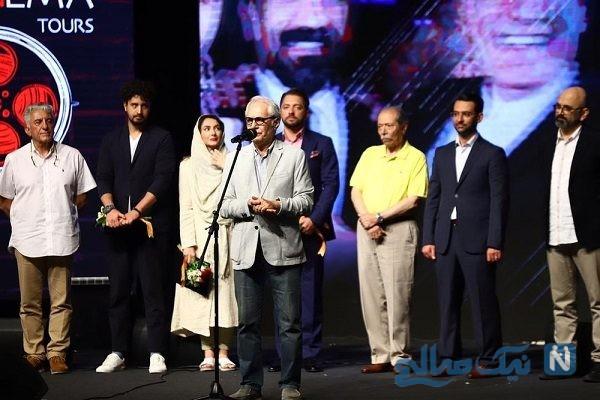 مراسم اختتامیه جشنواره ای در کیش با حضور هنرمندان
