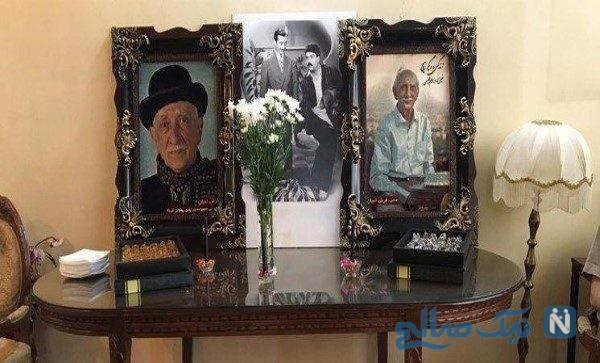 مراسم تشییع داریوش اسدزاده با حضور هنرمندان