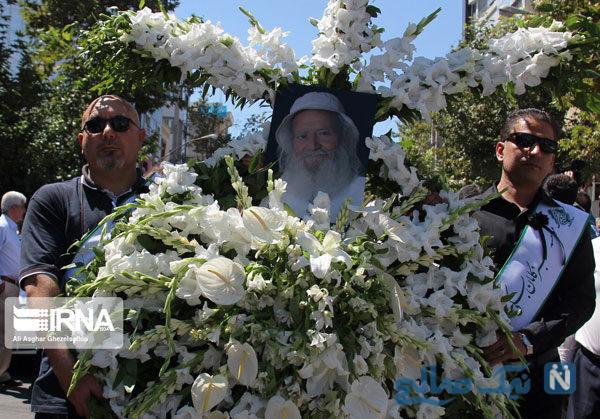 مراسم تشییع غلامعلی بسکی پدر طبیعت ایران