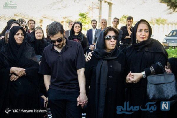 مراسم تشییع ناصر احمدی