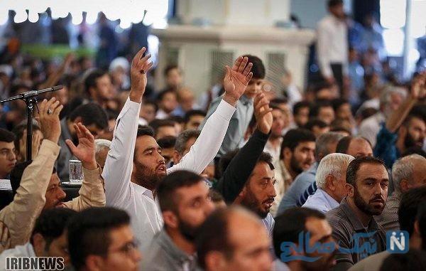 مراسم دعای پرفیض عرفه در سراسر کشور