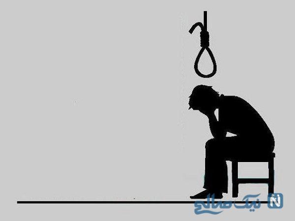 مرد در حال خودکشی و نجات او در آخرین لحظه