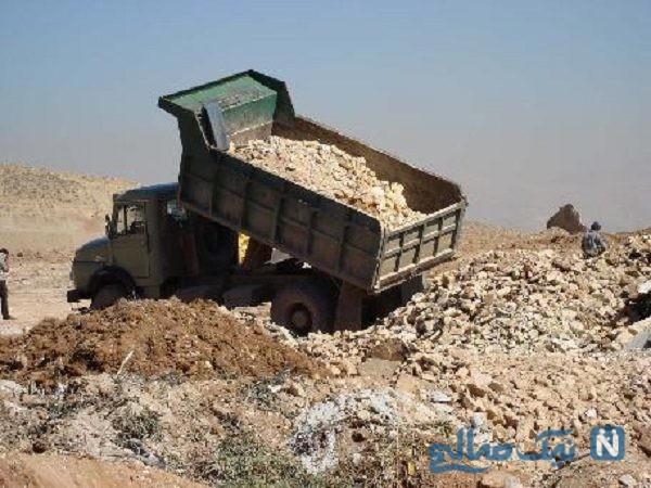 مرگ کودک مشهدی در زیر خاک های کامیون خبرساز شد(+۱۶)