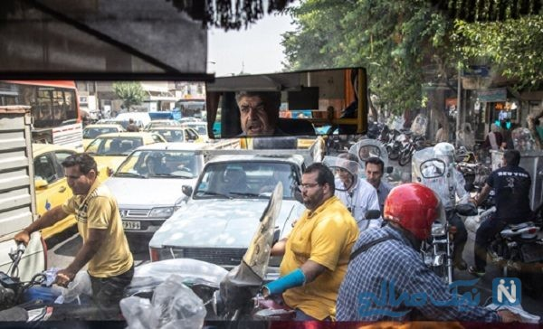 موتورسواران در تهران