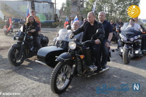 موتورسواری رئیس جمهور