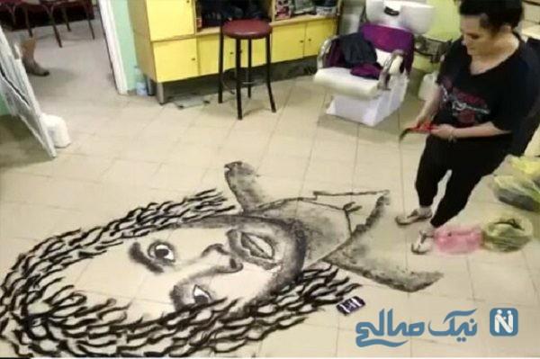 نقاشی عجیب