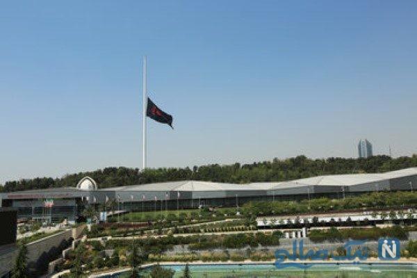اهتزاز پرچم یا حسین هزار متری در آسمان تهران و استقبال از محرم!