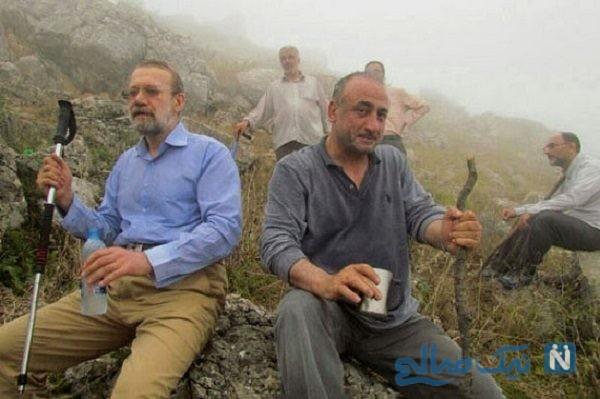 کوهنوردی علی لاریجانی