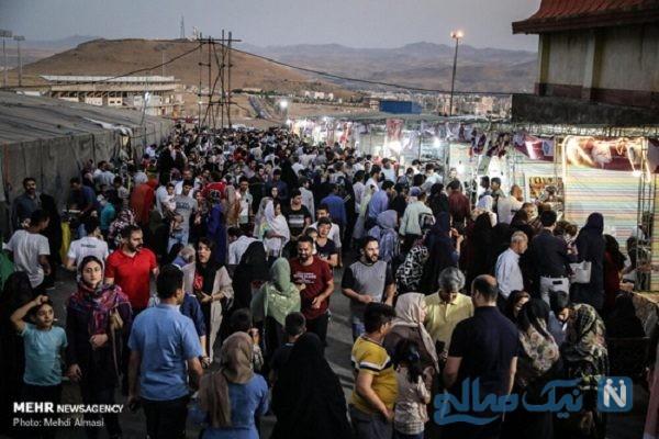 تصاویری جالب و دیدنی از جشنواره ملی آش ایرانی در زنجان