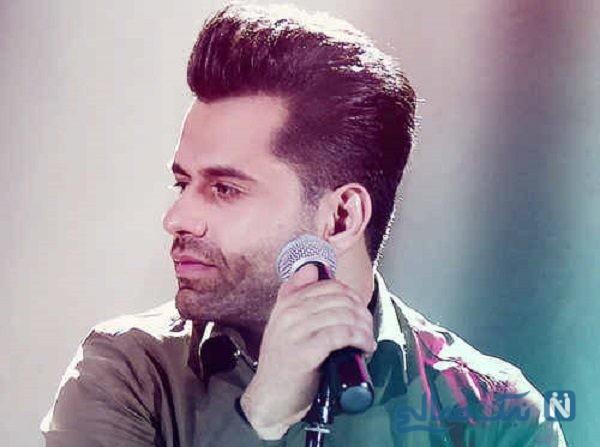 آواز رضا بهرام خواننده پاپ ایرانی در جشن تولد هوادارش
