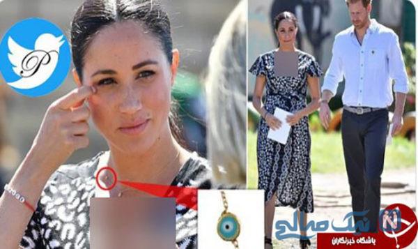 گردنبند چشم زخم عروس ملکه