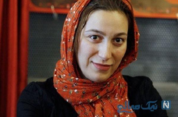 فلامک جنیدی بازیگر زن بعد از سالها به ایران بازگشت