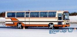 اتوبوس قدیمی که به استخر تبدیل شد!