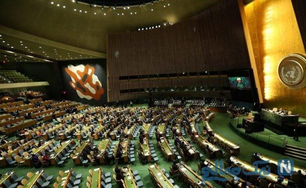 خنده های از ته دل حسن روحانی در سازمان ملل سوژه شد