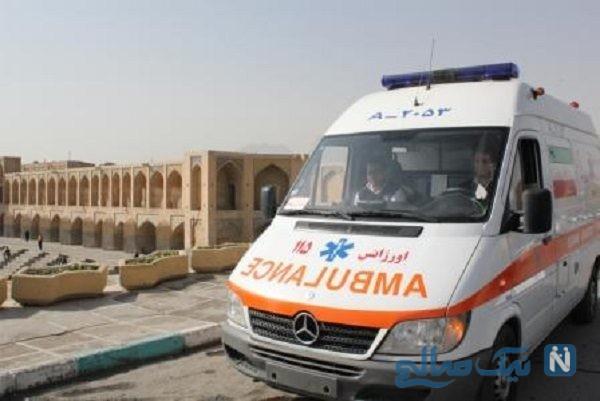 حمله خونین به نبروی امدادی اورژانس اصفهان
