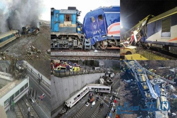 حادثه مرگبار خروج قطار تهران زاهدان در سیستان و بلوچستان + فیلم