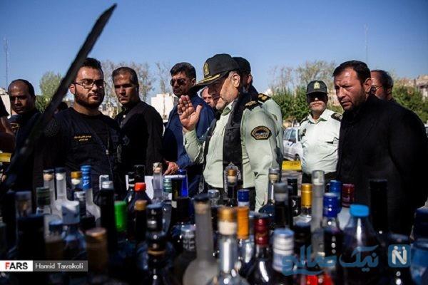 دستگیری باند توزیع مواد مخدر در پایتخت