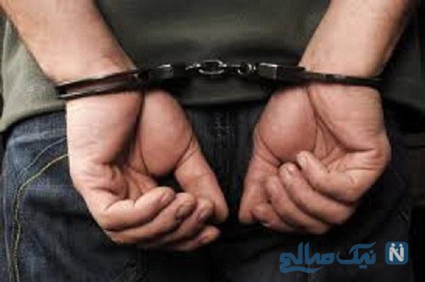 دستگیری سارقان زورگیر در شهریار و انتشار فیلمی از آن لحظه