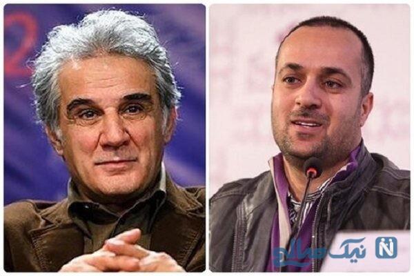 چهره های متحول شده مهران و احمد و رضا در پشت صحنه فیلم سینمایی انفرادی