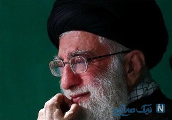 روضه خوانی رهبر انقلاب اسلامی برای حضرت ابالفضل العباس (ع)