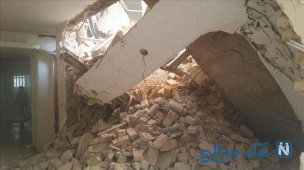 ریزش ساختمان در تبریز خبرساز شد!