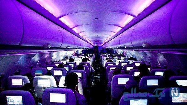 اقدام یک زن و شوهر در هواپیما جنجالی شد!
