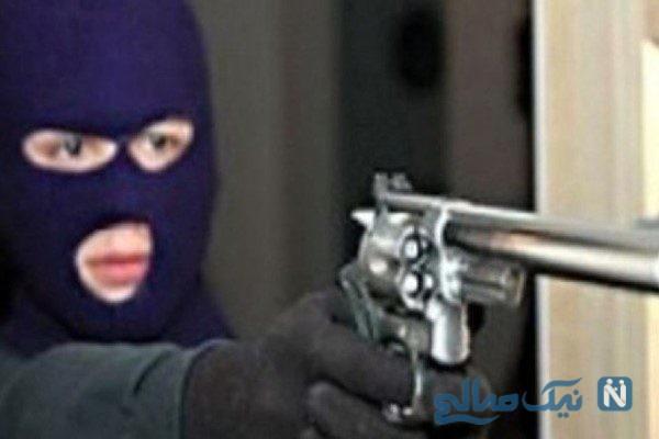 سرقت مسلحانه از طلافروشی