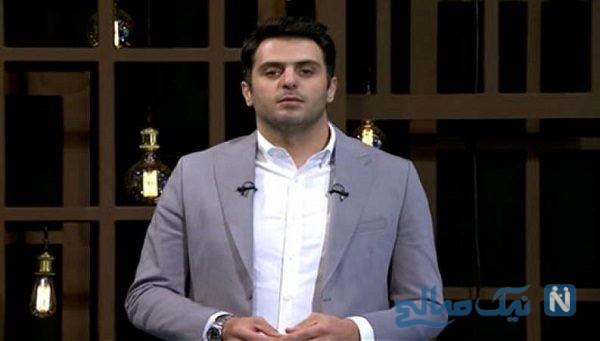 سوال جنجالی علی ضیا درباره حجاب از مهمان برنامه