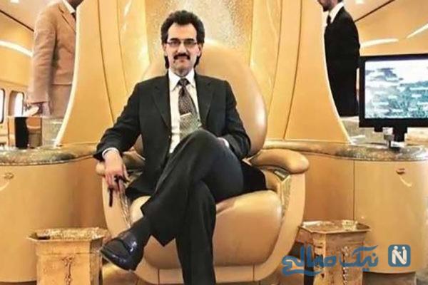 تصاویر شاهزاده میلیاردر سعودی در کنار مادرش