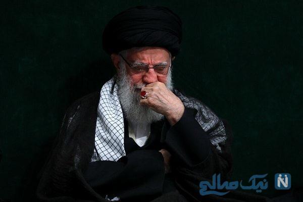 عزاداری سالار شهیدان با حضور رهبر در حسینه امام خمینی