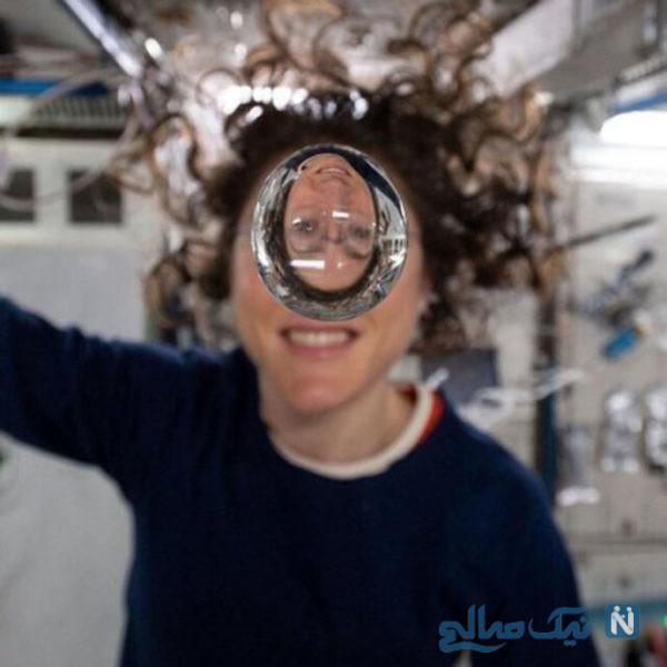عکس جالب فضانوردان