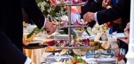 غذای چندش آور یک زوج در مراسم عروسیشان