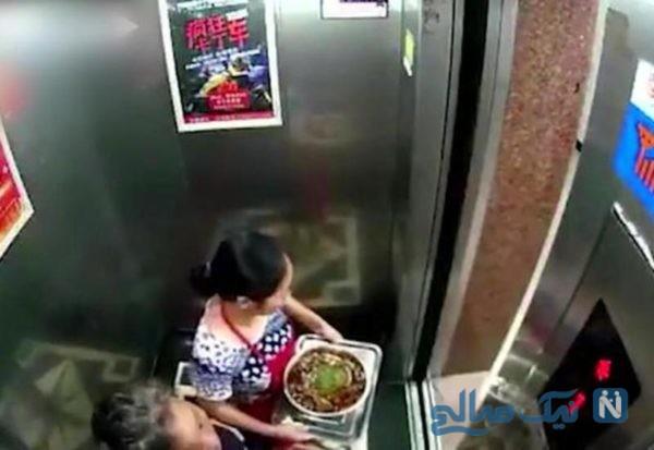 آسانسور خراب
