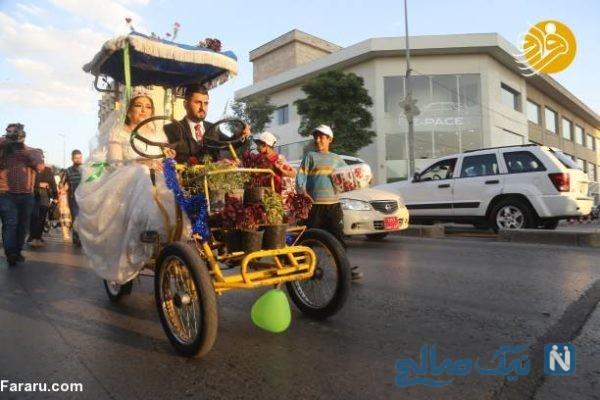ماشین عروس متفاوت