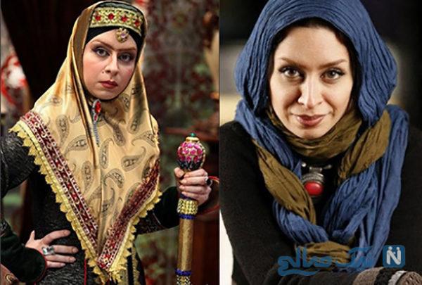 ماندانا سوری بازیگر سریال قهوه تلخ