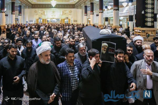 مراسم تشییع شیخ حسین کورانی