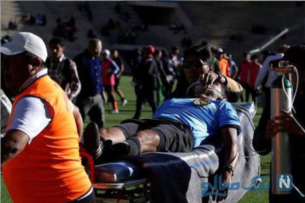 مرگ داور فوتبال