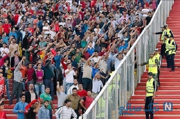 تصویری از پسر ۸ ساله که در استادیوم آزادی دچار برق گرفتگی شد!