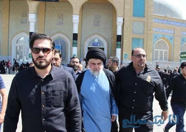 پخش نذری مقتدی صدر عراقی در قم
