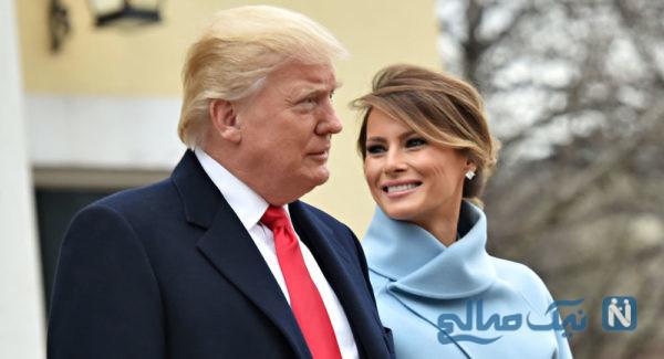 ملانیا همسر ترامپ