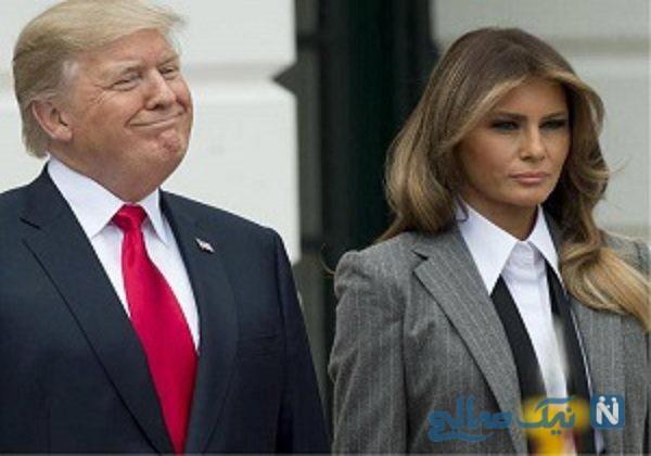 ملانیا همسر ترامپ سوژه طنز دونالد شد   مکرون از مشروب خوری هایش ندیدی !!!