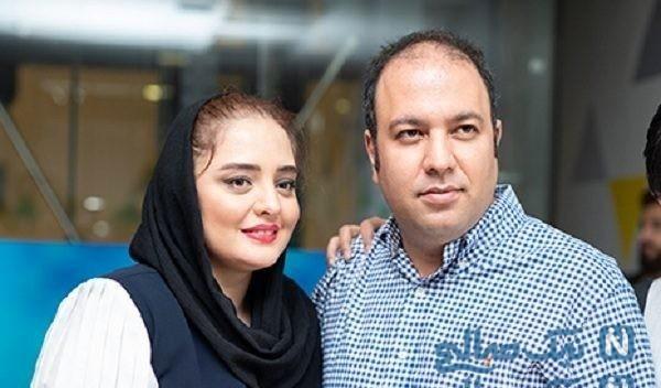 گردش نرگس محمدی و همسرش با گریم سنگین ستایش ۳