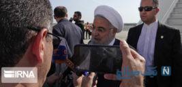 ورود روحانی به نیویورک برای شرکت در مجمع عمومی سازمان ملل